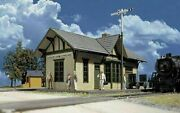 Vintage Walthers Cornerstone Series Ho Scale Golden Valley Depot Kit