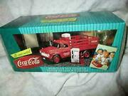 Vintage Coca Cola Stake Truck With Vending Machines And Dolly Cart