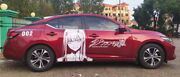 Darling In The Franxx Zero Two Anime Girl Car Decal Vinyl Sticker Fit Any Car