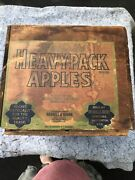 Vintage 1924 Apples Fruit Wood Crate Box Old 19andrdquo X 12andrdquo X 11andrdquo Tall