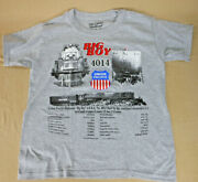 Union Pacific Big Boy 4014 Spec T-shirt Youth And Adult