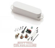 Emg S4 White Passive Single Coil Strat Stratocaster Replacement Pickup And Wiring