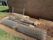 Galvanized Wire Fence Lot