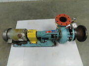 Deming 4011 4s End Suction Centrifugal Water Pump 5 In 4 Out 240gpm 480v 5hp