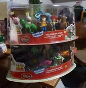 Toy Story 3 Heroes And Villains Playsets 15 Total Figures Disney Pixar New Auth