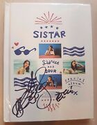 Sistar Hyorin Signed/autographed Sweet And Sour Album No Photo Card / Mwave