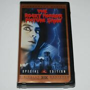 Rocky Horror Picture Show Vhs 1975 Horror Comedy Musical Widescreen Clamshell