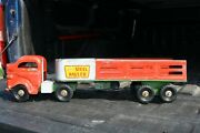 Lincoln Toys Steel Hauler Delivery Semi Truck Diesel Cab - Pressed Steel Canada