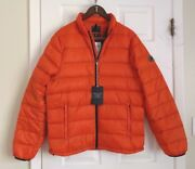 Nwt- Aandf Abercrombie And Fitch Men Lightweight Down-filled Packable Puffer