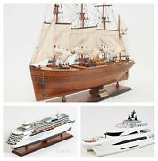 Custom Made Boat And Ship Models Any Model Any Scale Special Order Nautical Decor