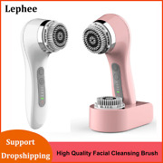Ultrasonic Face Cleansing Brush Electric Facial Cleansing Brush Sonic Cleaning C