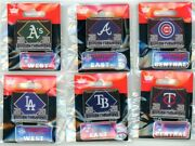 2020 Mlb Division Champs Dangle Pin Choice Aand039s Dodgers Braves Cubs Rays Twins