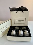 New Jo Malone Scented Candle And Diffuser Home Collection Luxury 5 Pc. Set, Nib