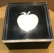 Beatles-original 1968 Apple Lucite Cube 300 Made As Christmas Gifts