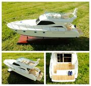 36 Large Luxurious Viking Sport Cruiser Yacht Boat Assembled Model Display Gift