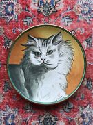 Cat Persian By Vincente Tiziano Collector Plate Cat Series