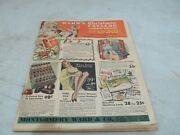 Vintage Rare Montgomery Ward And Co. 1932 Christmas Catalog Ward's Pedal Cars Toys