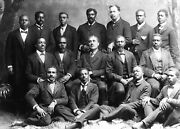 African American Men Minister's Class -roger Williams University-1899 Photo