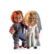 Chucky And Bride - Life Size Standup/cutout Brand New - Halloween Movie 3528