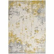 Sunshine Rugand039s Allure Collection - Modern Area Rug Abstract Gold