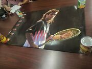 Nike Challenge Court Poster 24x36 Andre Agassi Long Hair