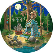 Bear Heist Spare Tire Cover Any Make/model-menu For Tire Size/camera Opening