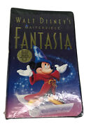 Walt Disneyand039s Masterpiece Fantasia Final Release Vhs 1991 Clamshell New Sealed