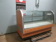 Federal Cg6cd-2a Hd Commercial Lighted Refrigerated Curved Glass Display Case