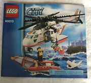 Lego City Coast Guard Helicopter - 60013 - Instruction Manual Only