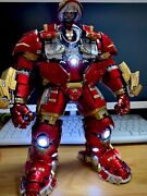 1/12 Iron Man Mk44 Hulkbuster Action Figure Alloy Led Model Collectable Toy Gift