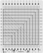 Creative Grids Stripology Squared Quilt Ruler Cgrge2