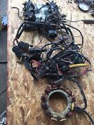1998 Mercury 175hp Efi Outboard Ignition Coil Stator Sensor Relay Assembly