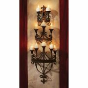 Candelabra Candles Holder Wall Mount Sconce Chandelier Candlestick Gothic Decor