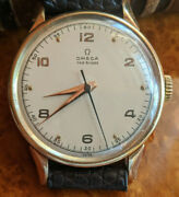 Rare Omega 14k Cal. 30t2 Sc Pc 35.5mm Menand039s Watch