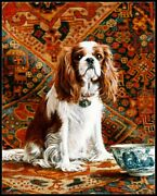 Cavalier With Bells -chart Counted Cross Stitch Pattern Needlework Xstitch Craft