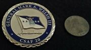 Rare 4 Star General Csaf Chief Of Staff Of The Air Force Welsh Us Challenge Coin