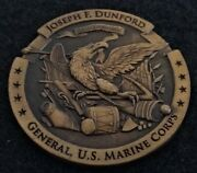 Rare 4star General Assistant Commandant Dunford Marine Corps Usmc Challenge Coin