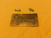1959 Gibson Les Paul And03959 Lifton Guitar Case Brass Metal Badge Name Plate Logo