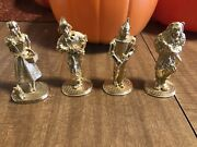 Wizard Of Oz 24 Karat Gold Plated Statue Carver 1989