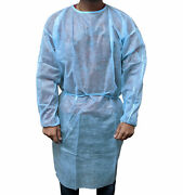 Isolation Gown 47 X 55 Pp - 25g Fluid Resistant Blue 1000 Pcs By Shield Care