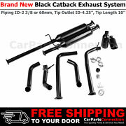 Catback Exhaust For Tundra 09-20 V8 10 Inch Clamp On Tip 3/8 In 4.25 Out 284279