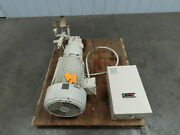 Vickers Pvb29 Rs 20 Cm Hydraulic Piston Pump With 20 Hp. Motor W/motor Starter