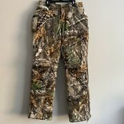 Under Armour Hunting Pants Mens Size Small Realtree Camo Camouflage Timber Hunt