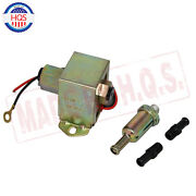 12v Electric Fuel Pump Metal Solid Diesel Or Petro 4-6 Psi Heavy Duty Ep014