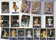 Pick From List Full Team Sets 2019-20 Sticker Collection W/ Foil Cartoon Subsets