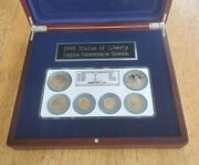 1986 Statue Of Liberty Commemorative 6 Coin Gold And Silver Set Ngc Ms69 Pf69ucam