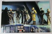 David Prowse Star Wars Esb Signed Autograph 20x30 Photo Poster X6 Bounty Hunters