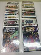Large Justice League Of America 1987 Dc 35 Comic Lot 0, 27, 29, 30, 53,55 More