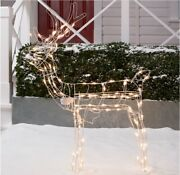 Christmas Outdoor Decorations Reindeer Light-up Tall 48 Inch, Christmas Lights