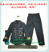 Uniform Blue For Did D80148 Wwii German U-boat Commander- Lehmann 1/6 Scale 12and039and039